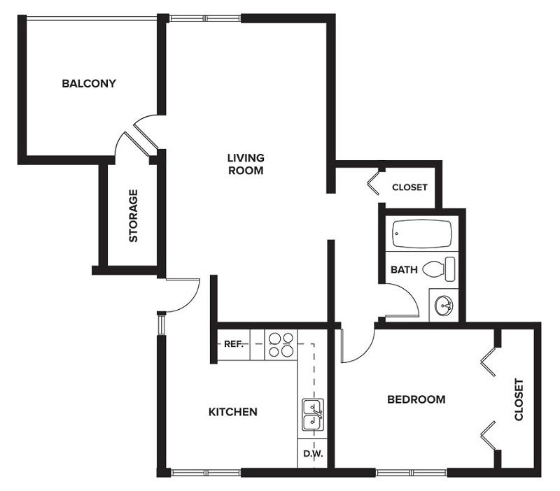 1 2 Bedroom Apartments For Rent In Lincoln Ne Trenridge Gardens In Lincoln Ne
