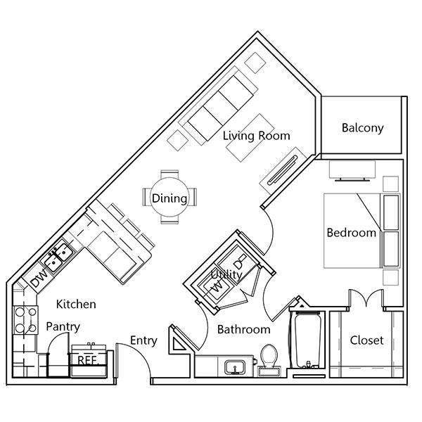 Floorplan - Hayes image