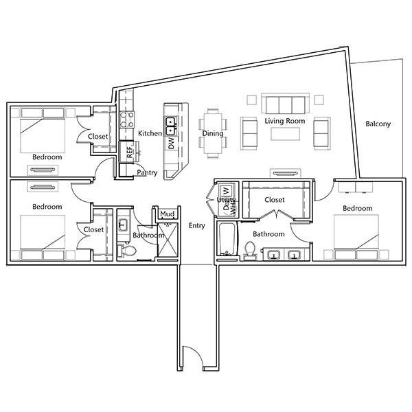 Floorplan - Madison image
