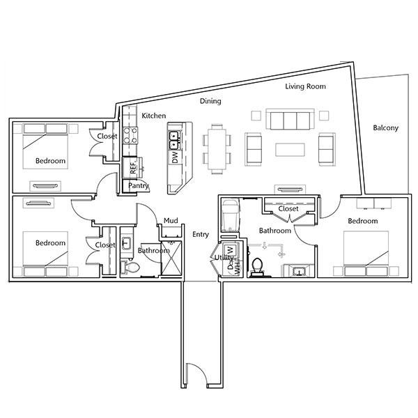 Floorplan - Madison-HC image