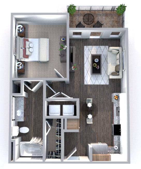 Floorplan - Monroe image