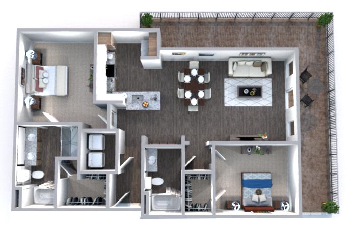 Floorplan - Wilson image