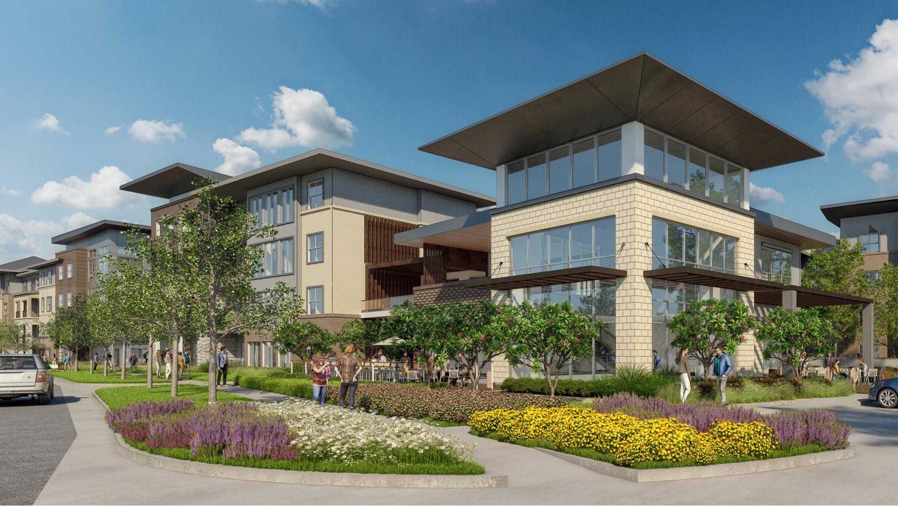 Property View at The Truman Arlington Commons in Arlington, Texas