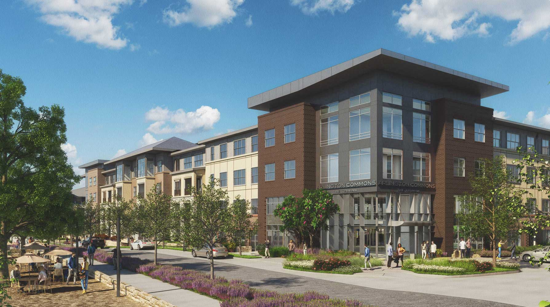Luxury Apartments at The Truman Arlington Commons in Arlington, Texas