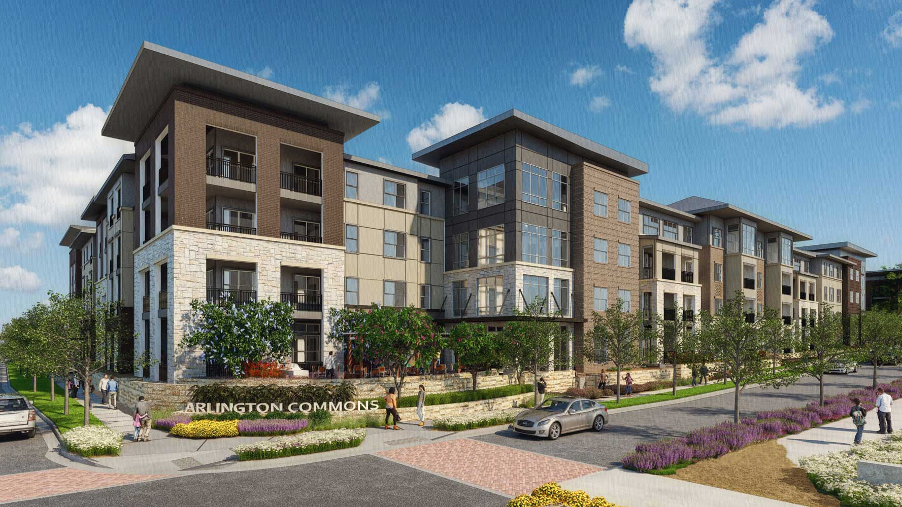 Apartments for Lease at The Truman Arlington Commons in Arlington, Texas