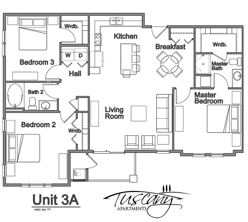 Tuscany Place - Floorplan - Catarina