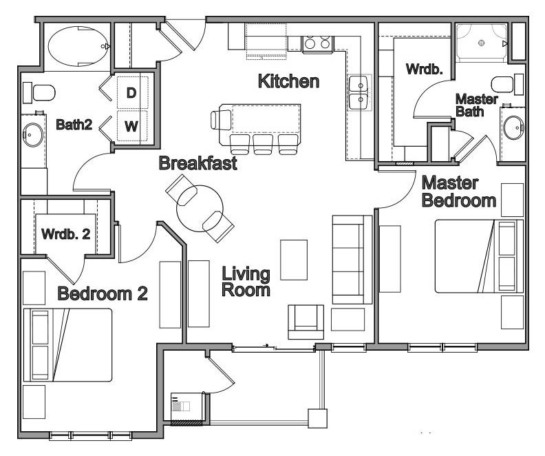 Floorplan - Rialto image