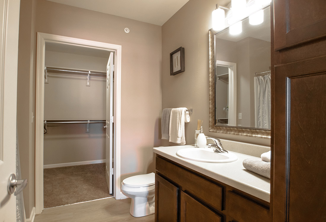 Spacious Walk-In Closets at Tuscany Place Apartments in Papillion, NE