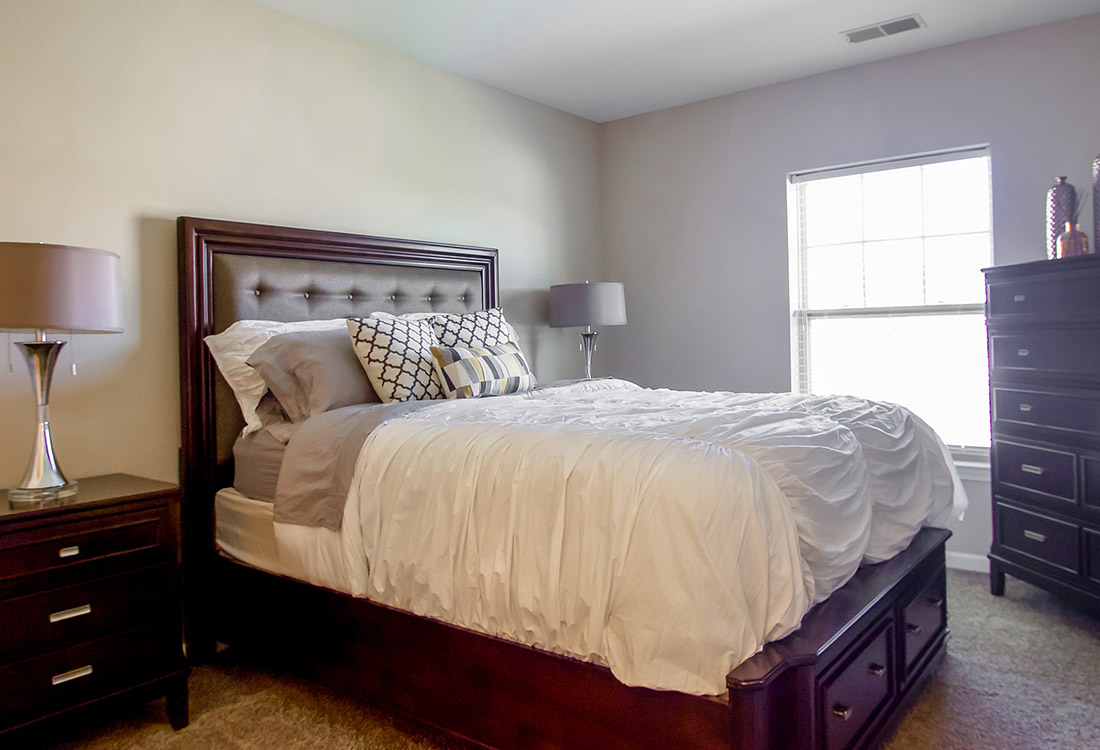 Large Master Bedrooms at Tuscany Place Apartments in Papillion, NE