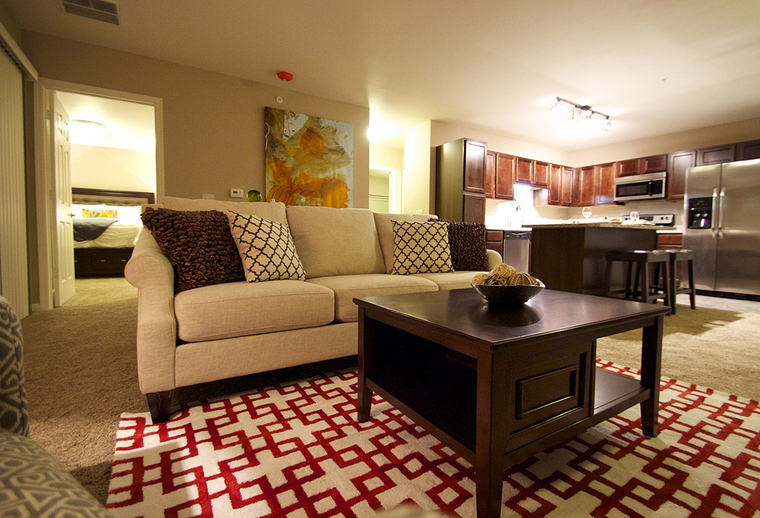 Plush Carpeting at Tuscany Place Apartments in Papillion, NE