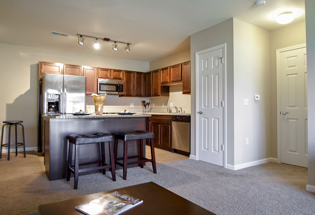 Eat-In Kitchen at Tuscany Place Apartments in Papillion, NE