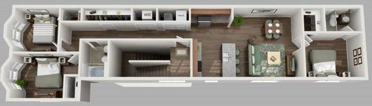 Floorplan - E - Second Floor   image