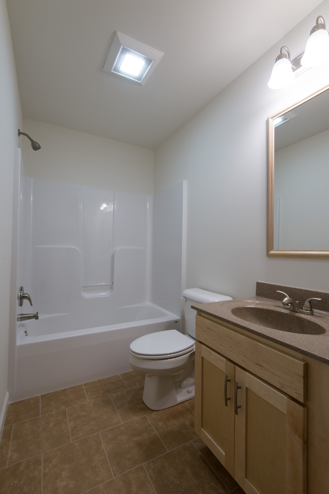 Spa-Like Bathroom at U City Flats Apartments in Philadelphia, Pennsylvania