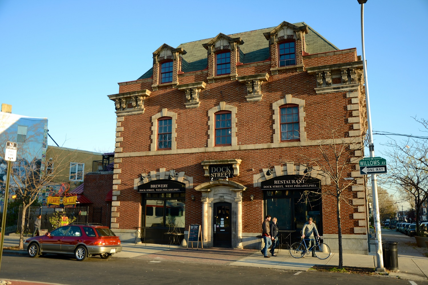 Dock Street Brewing in the University City Neighborhood of Philadelphia, Pennsylvania