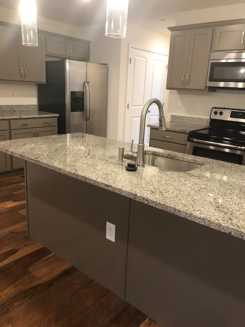 Fully Equipped Kitchen at U City Flats Apartments in Philadelphia, Pennsylvania