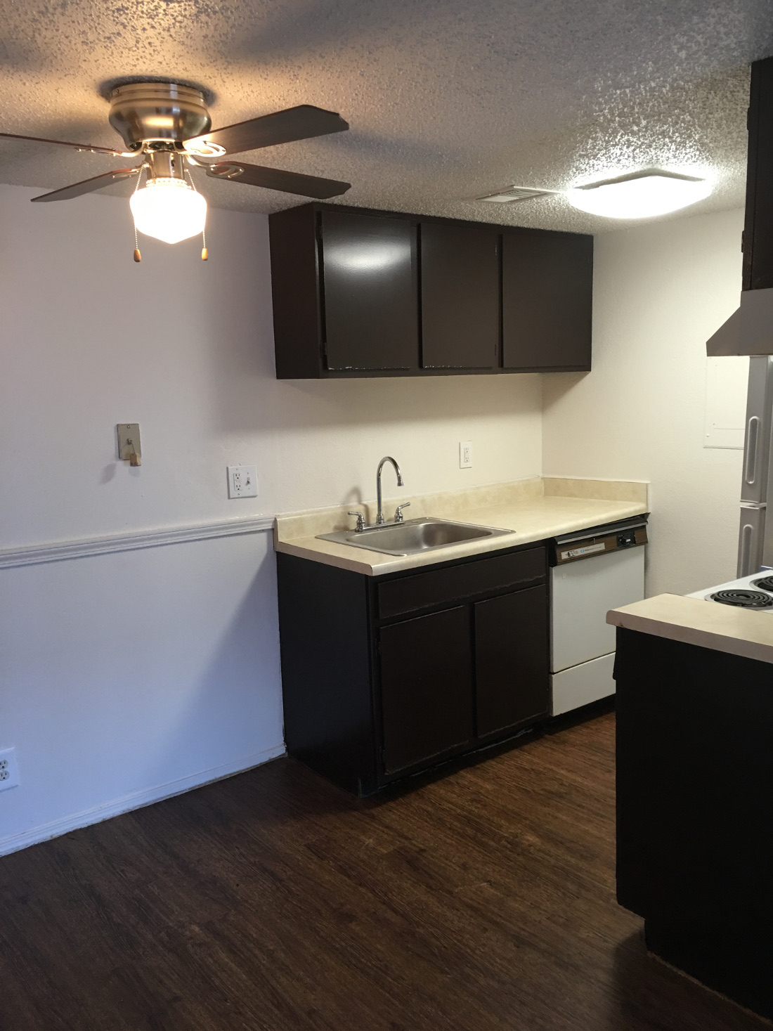 Kitchen at Union Point Apartments in Tulsa, OK