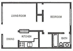 Floorplan - Unit 574 image