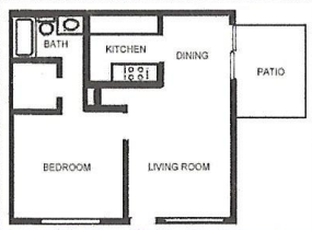 Floorplan - Unit 600 image
