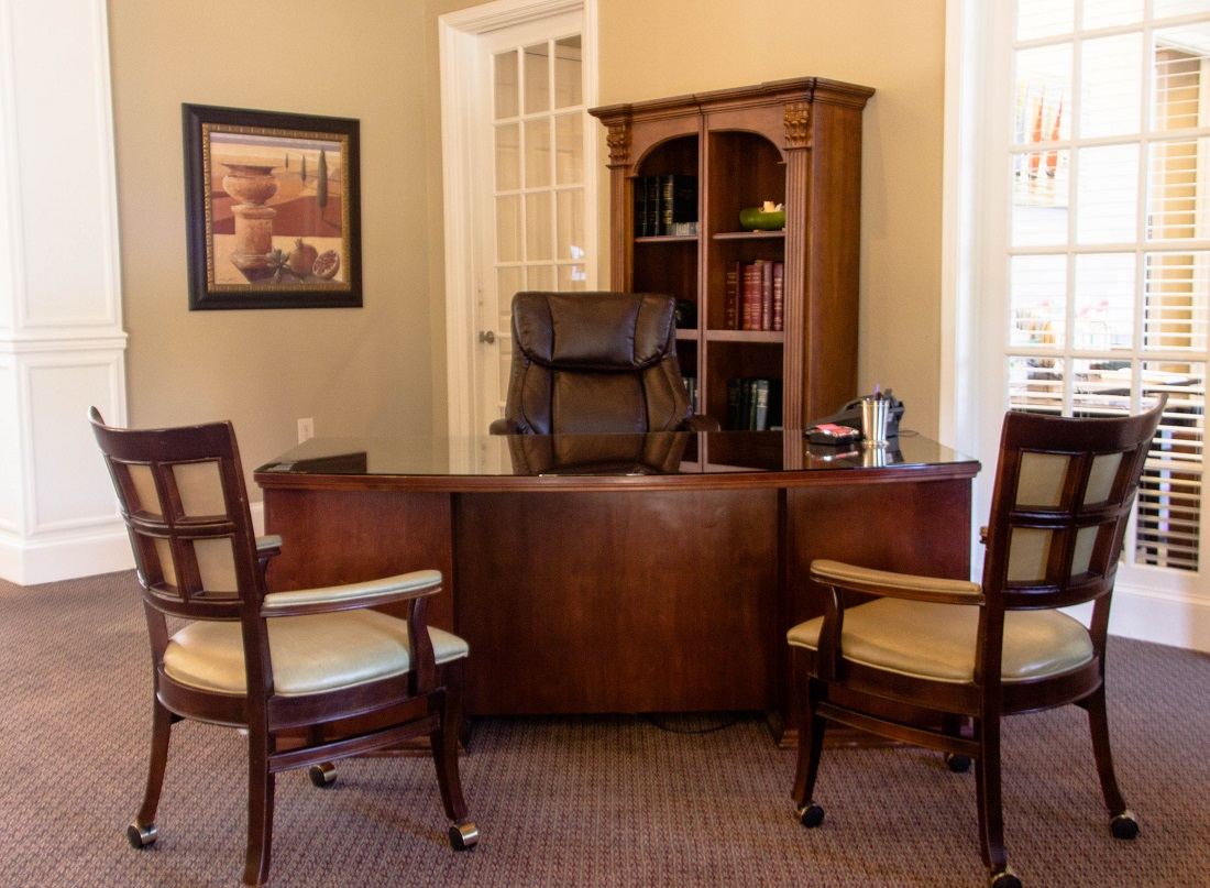 Leasing Office at Village at Southern Oaks Apartments in Pensacola, FL
