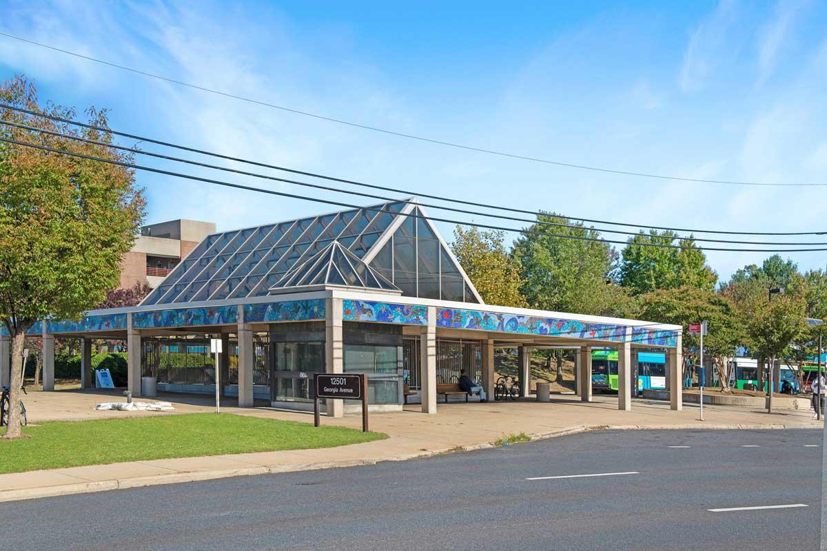 Glenmont Metro is 5 minutes from Village Square Apartments in Wheaton, MD