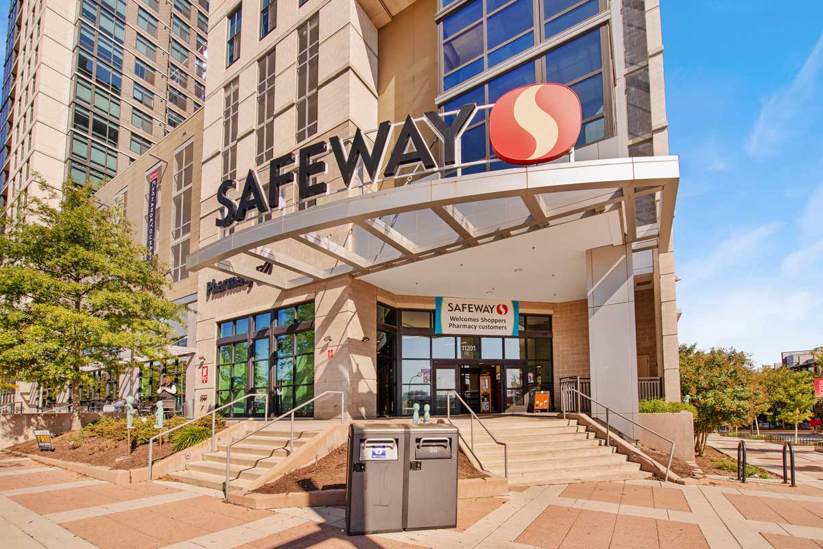 Safeway is 5 minutes from Village Square Apartments in Wheaton, MD