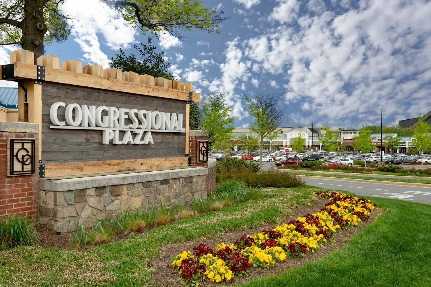 Congressional Plaza is 10 minutes from Village Square Apartments in Wheaton, MD