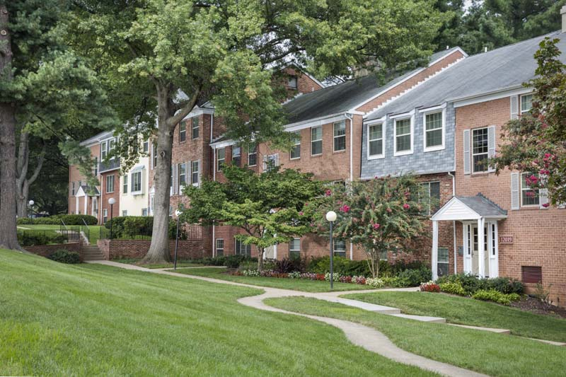 1, 2 and 3 bedroom apartments at Village Square Apartments in Wheaton, MD