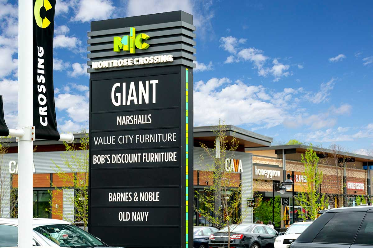 Giant is 5 minutes from Village Square Apartments in Wheaton, MD