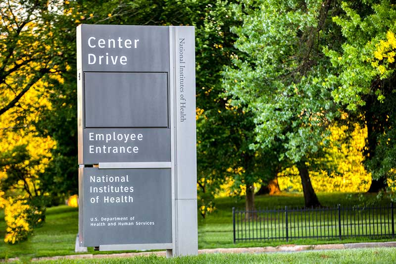 15 minutes to National Institutes of Health (NIH)