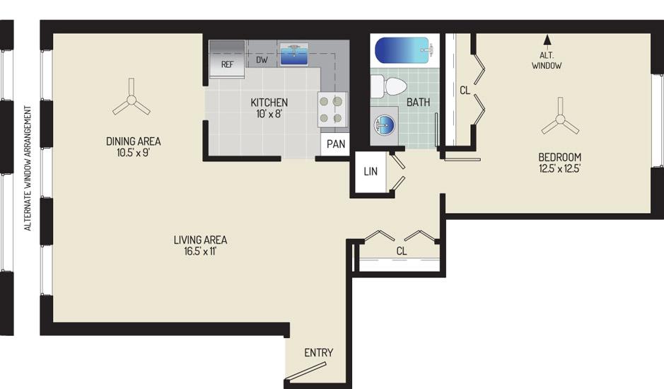 Village Square Apartments - Apartment 022003-101-B1