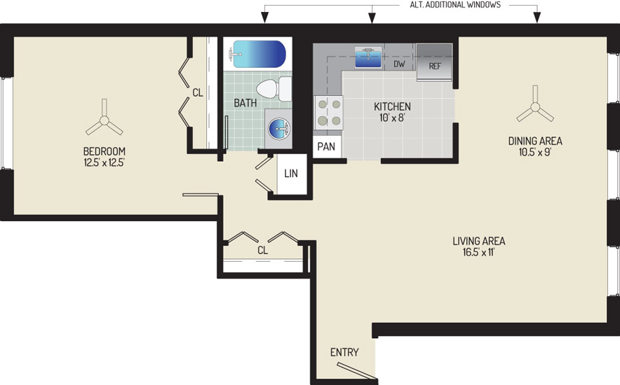Village Square Apartments - Apartment 022015-102-B2