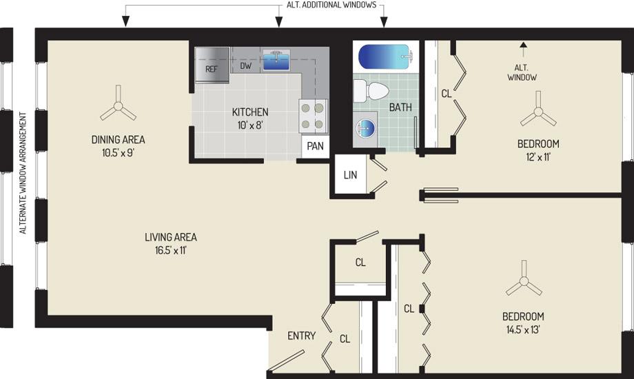 Village Square Apartments - Apartment 022037-201-F1