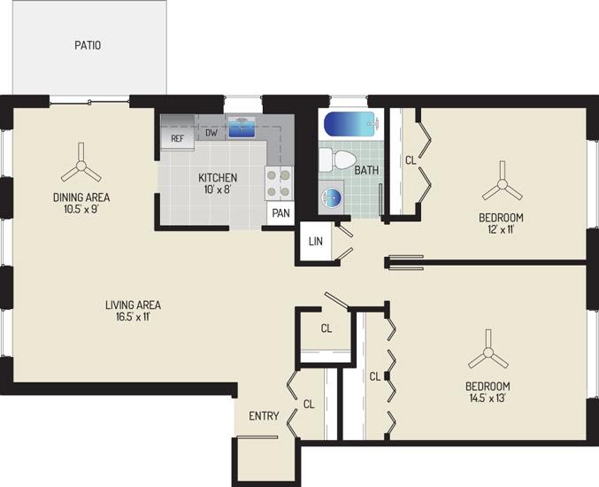 Village Square Apartments - Apartment 022025-101-G1