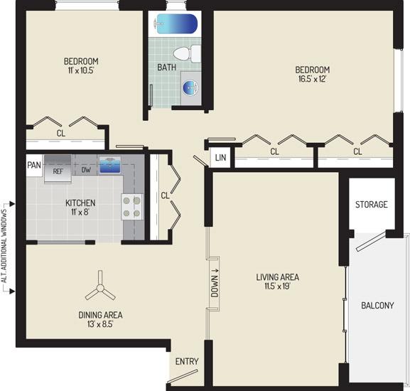 Village Square Apartments - Apartment 021931-401-I1