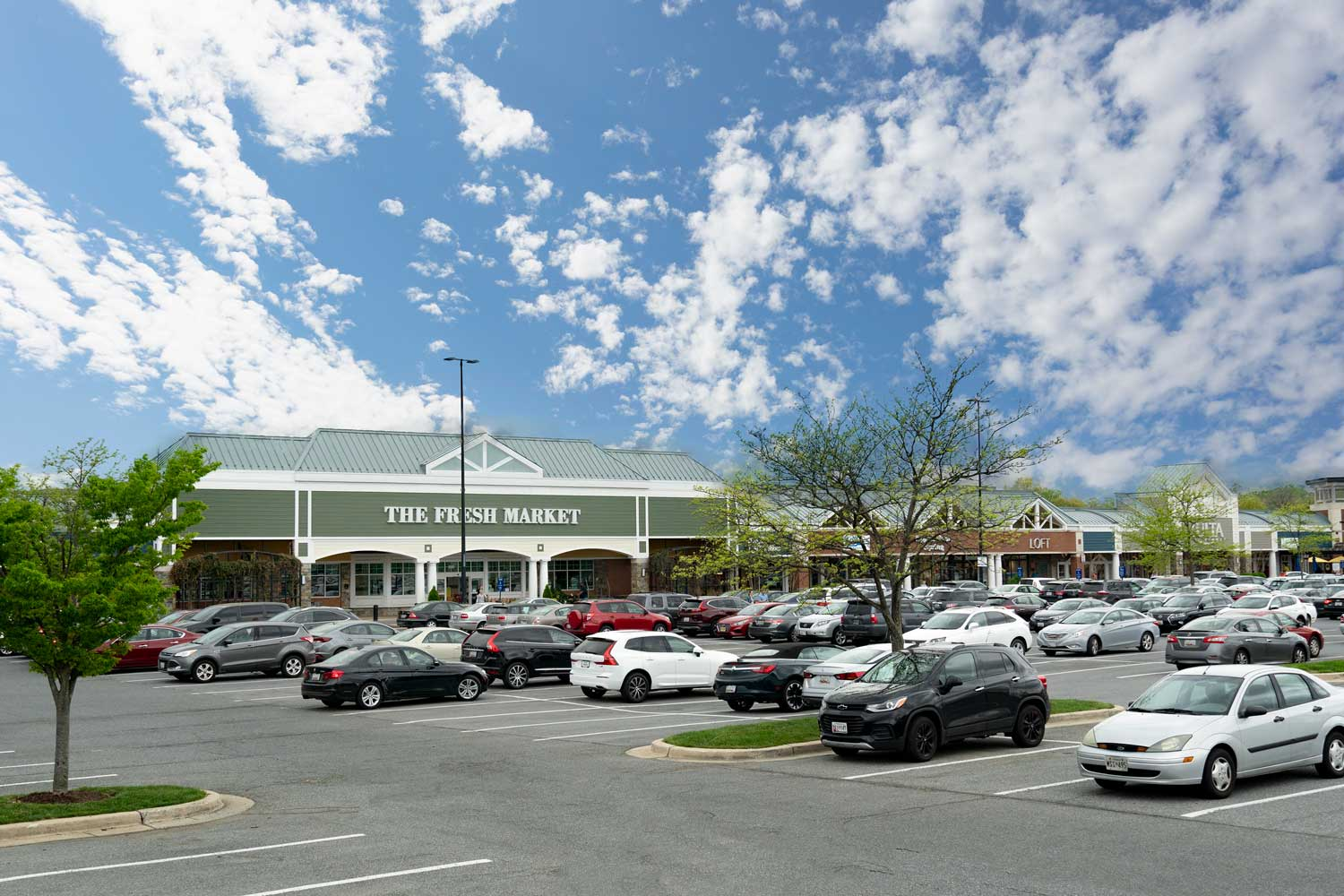 The Fresh Market is 5 minutes from Village Square West Apartments