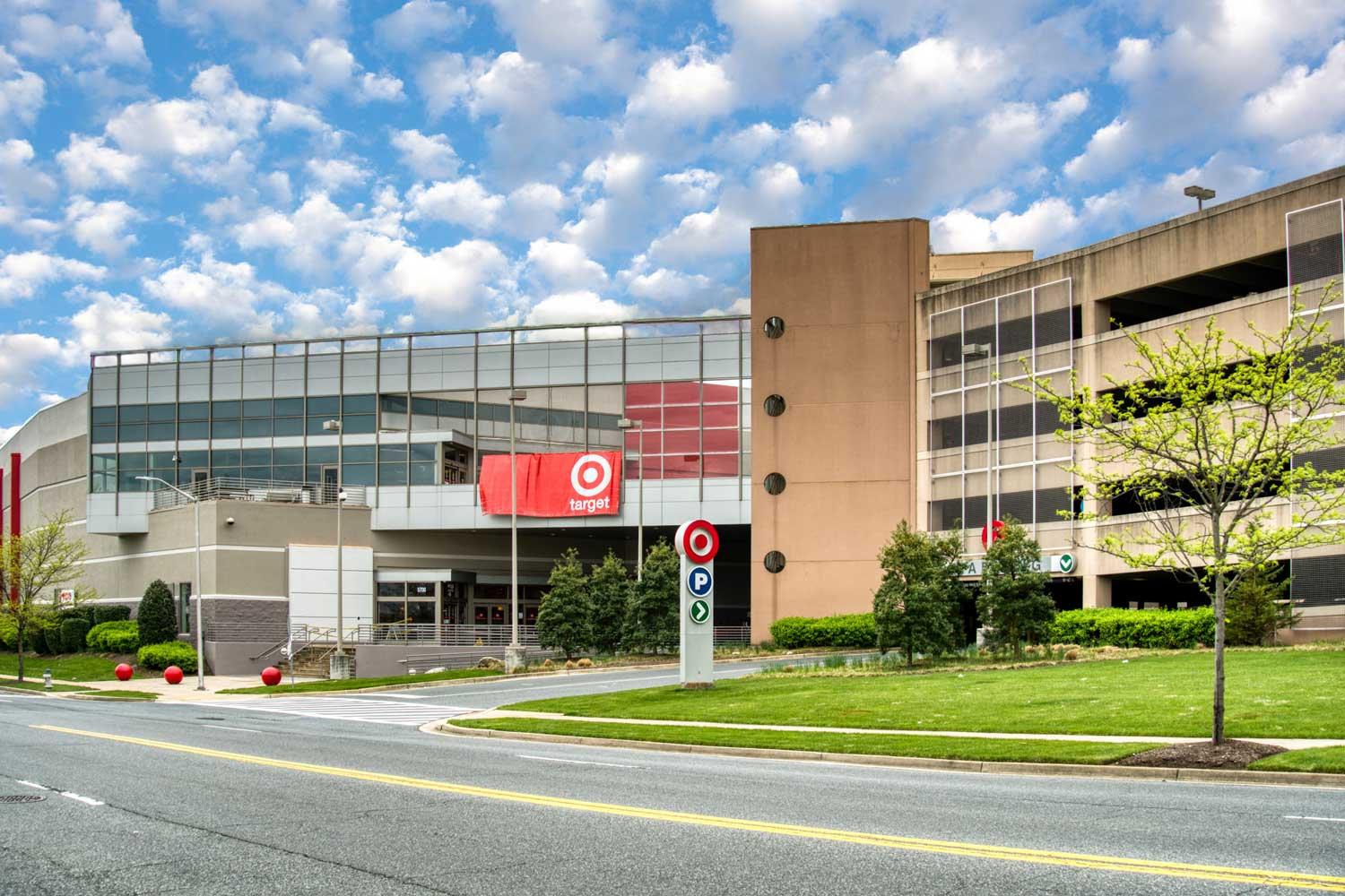 Target is 5 minutes from Village Square West Apartments in North Bethesda, MD