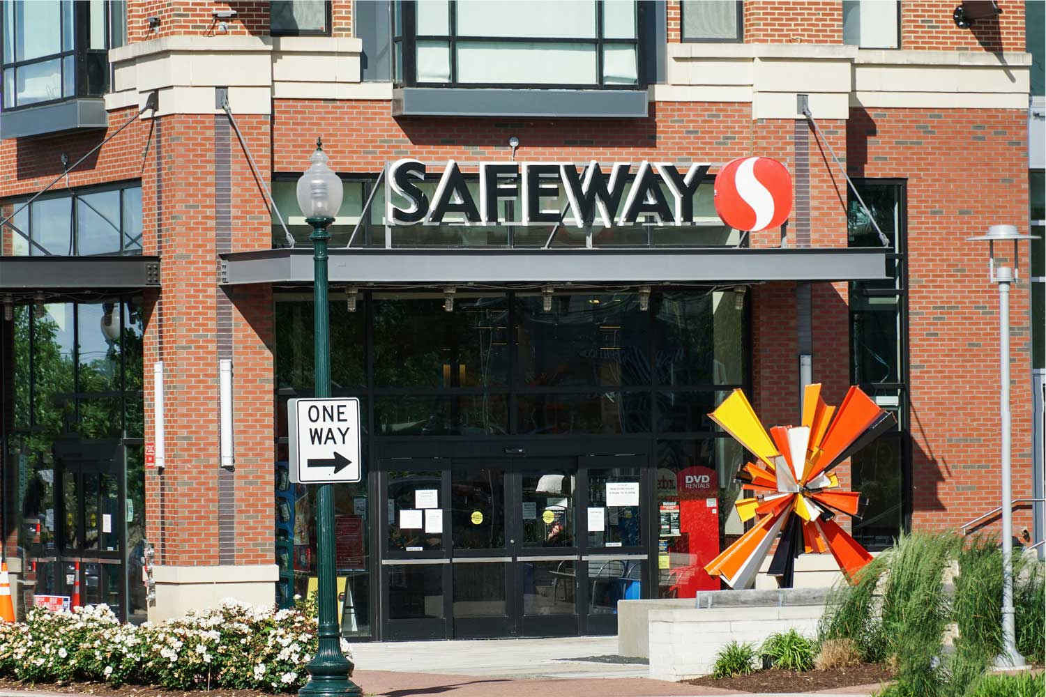 Safeway is 5 minutes from Village Square West Apartments in North Bethesda, MD