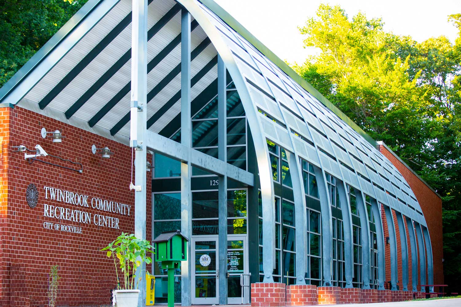 5 minutes to Twinbrook Community Recreational Center