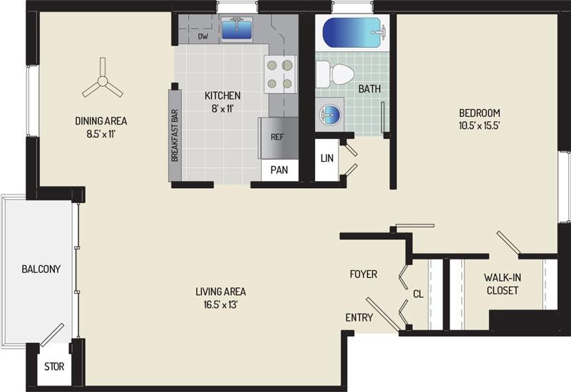 Village Square West Apartments - Apartment 042513-402-G1