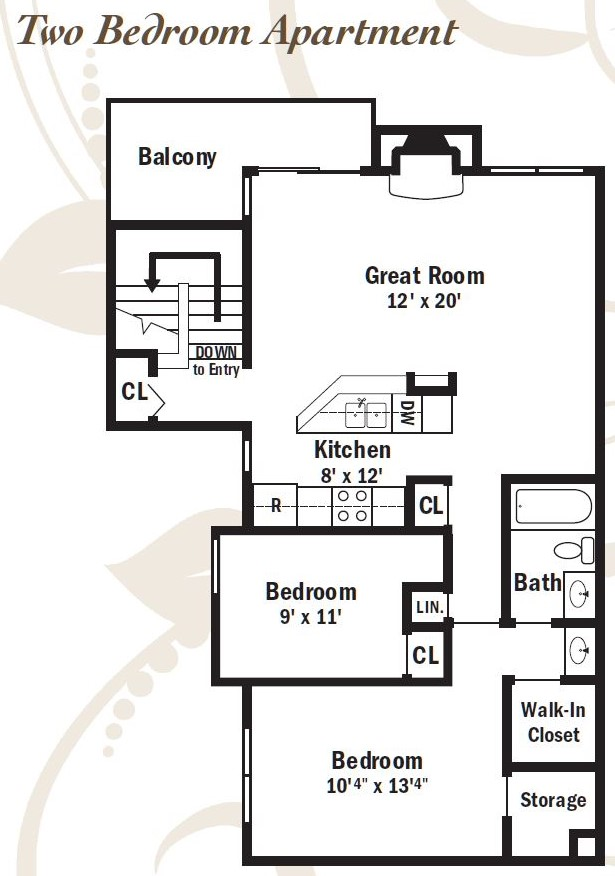 Informative Picture of Two Bedroom