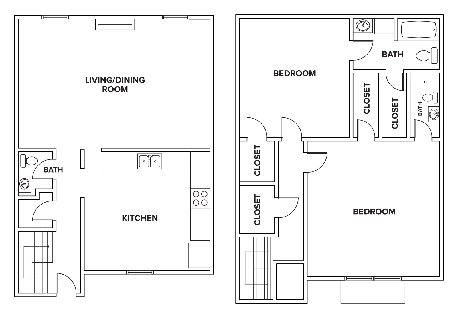 Informative Picture of 2BR C - Townhome