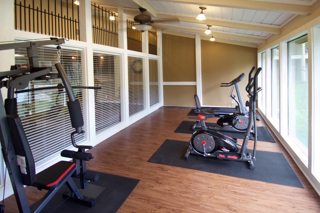 Fitness Center at Villas of Oak Creste Apartments in San Antonio, TX