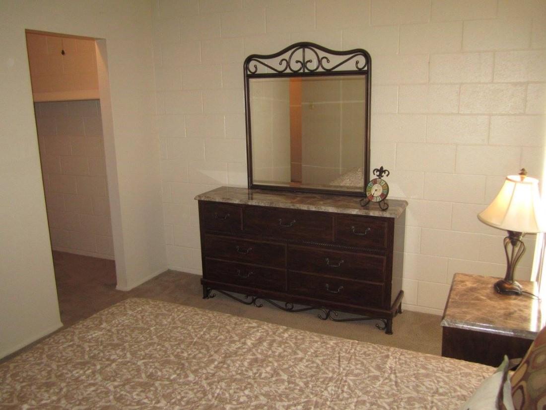 Walk-in Closet at The Villas @ Uptown Apartments in Albuquerque, NM