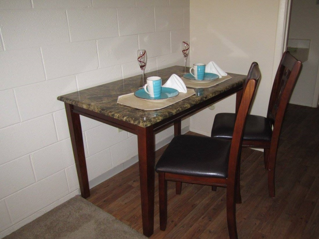 Dining Area at The Villas @ Uptown Apartments in Albuquerque, NM