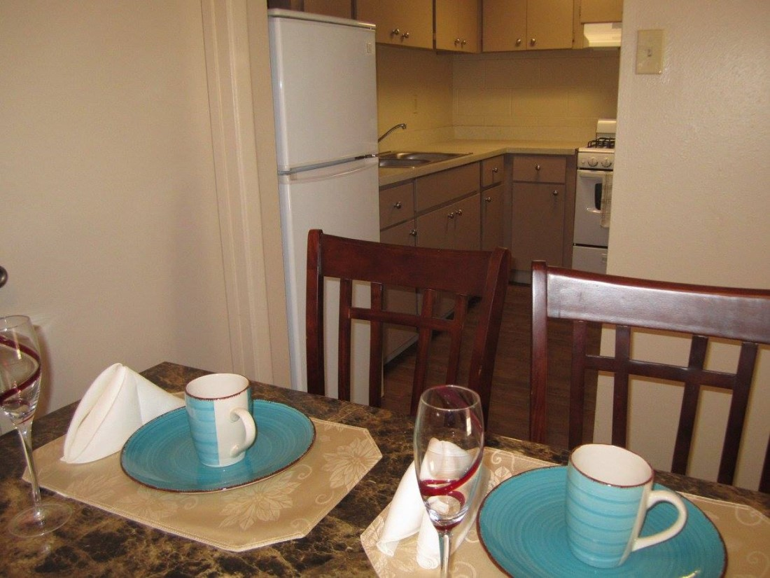 Kitchen Area at The Villas @ Uptown Apartments in Albuquerque, NM