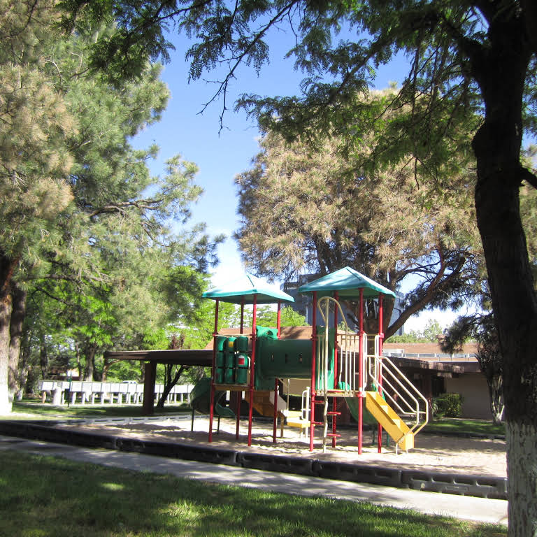 Playground for Children at The Villas @ Uptown Apartments in Albuquerque, NM