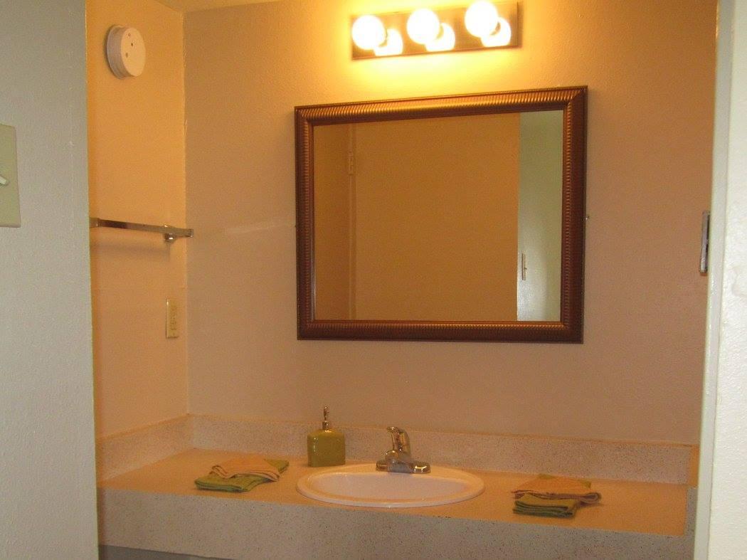 Bathroom at The Villas @ Uptown Apartments in Albuquerque, NM