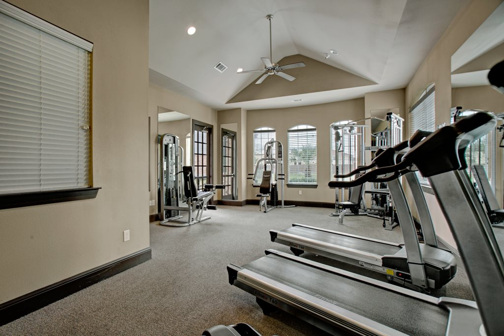 Cardio Machines at Vista Monterrey Apartment Homes in Brownsville, Texas