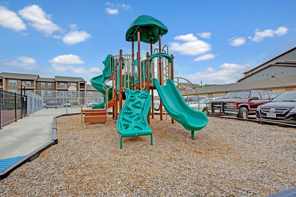 Playground at Vista Monterrey Apartment Homes in Brownsville, Texas