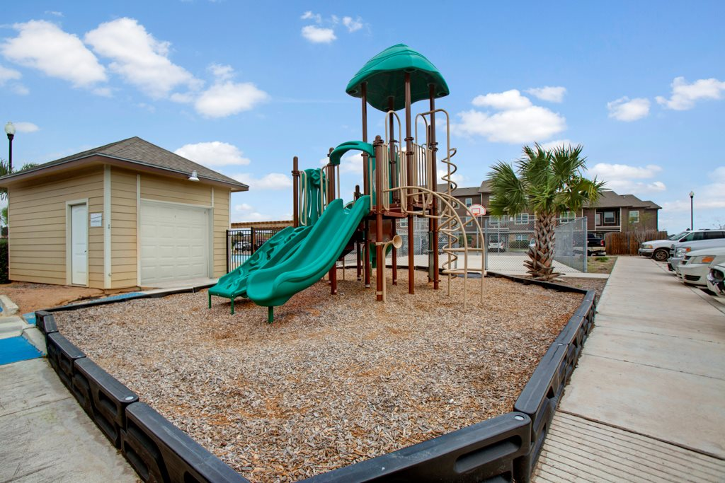 Children's Playground at Vista Monterrey Apartment Homes in Brownsville, Texas